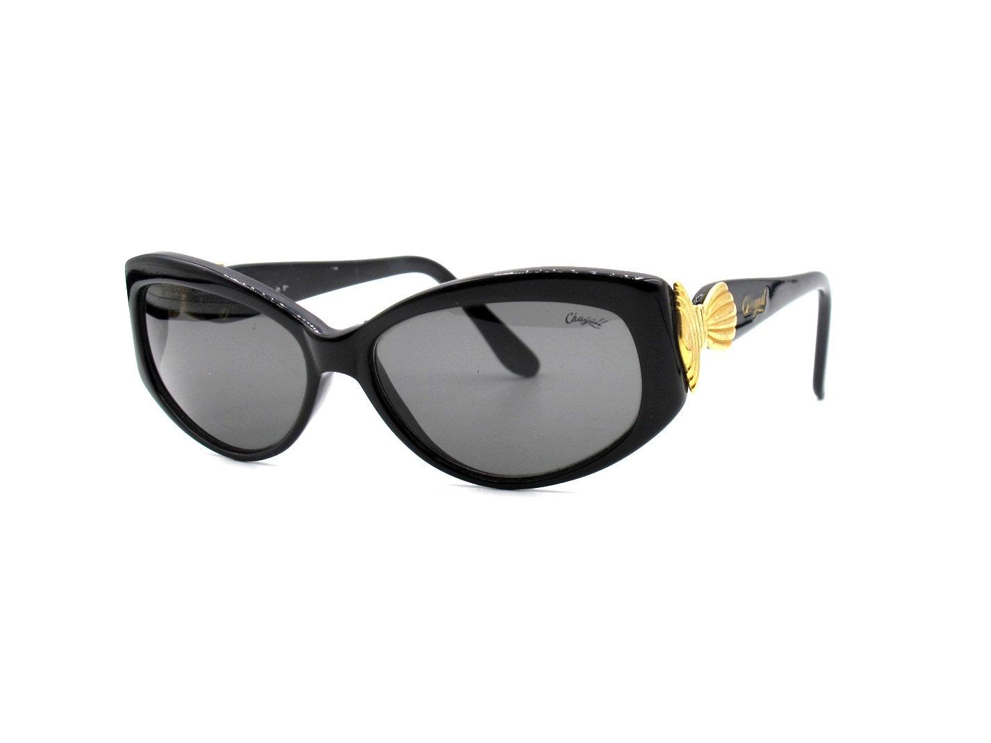 Classic Genuine Vintage Deadstock 80s 90s Style Brown /& Black Cat Eye Sunglasses