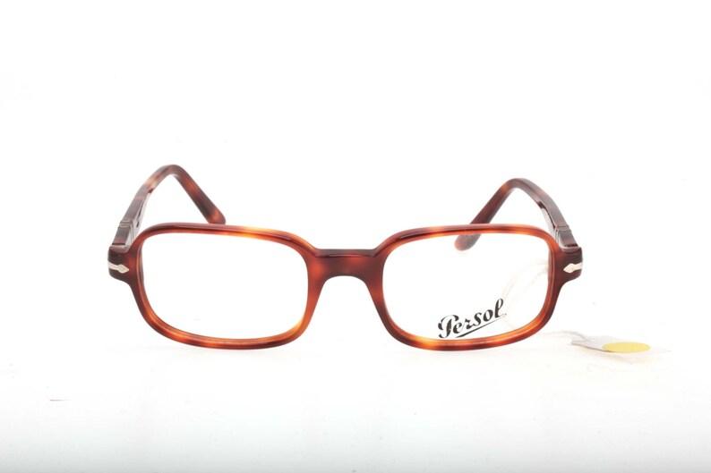 ffde179a80 Persol rectangular-squared glasses demi blonde tortoise