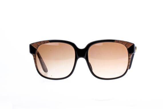 b0c3034a91c Emmanuelle Khanh luxury sunglasses black cello frames with