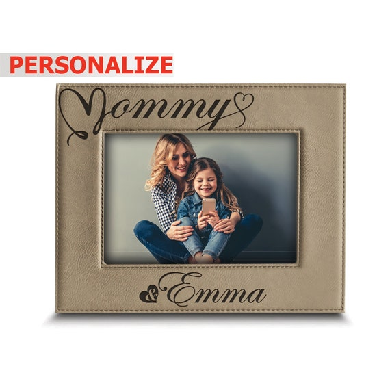 Personalized I Love Mommy Picture Frame Mothers Day Gift Gifts