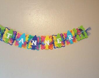 Trolls Banner for Boys