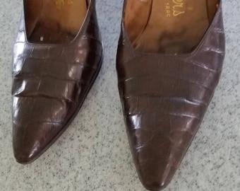 Vintage Alligator Heels