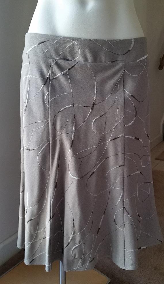 Tailor/B. Moss A-line Skirt