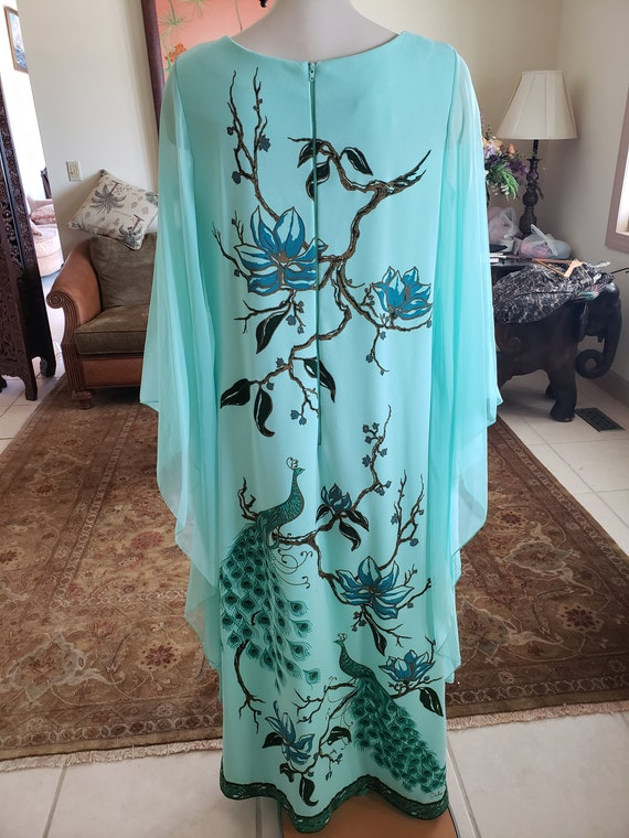 Alfred Shaheen Vintage 1960s Maxi Dress - image 5