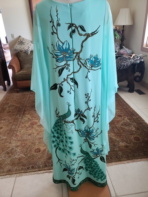 Alfred Shaheen Vintage 1960s Maxi Dress - image 4