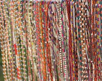 Peruvian Wantana Beads/ Wrap Bracelets