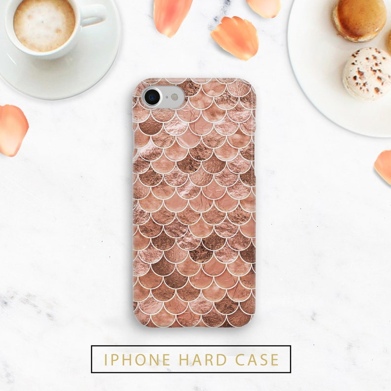 278ee05b5030 Rose Gold Mermaid Case, Rose Gold Scales, Durable, Pixel 3, Pixel 2,  Samsung Galaxy, iPhone Plus Case, iPhone 8 case, iphone X, iPhone XS