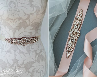 Bridal Sash Belt, Wedding Sash Belt, Wedding Sash, Bridal Belt, Bridal Sash Beaded Applique Sash