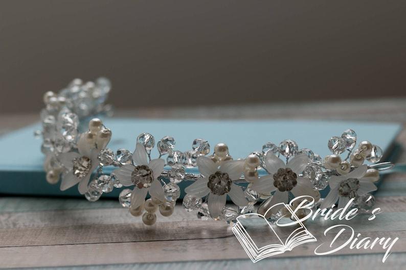 Bridal Wreath wedding hair accessories confirmation hair accessories bohemian headband