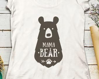 Mama Bear SVG Mama Bear SVG Files Family Bears Svg File Mama Svg Family bear Svg files Cricut Files SVG Cricut File Silhouette Cut Files