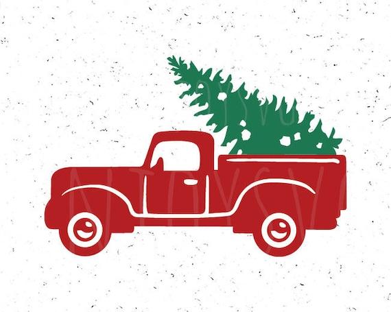 Christmas Truck Svg.Christmas Svg Christmas Truck Svg Christmas Red Truck Svg Christmas Tree Svg Merry Christmas Svg Red Truck Svg Truck Cut File Silhouette