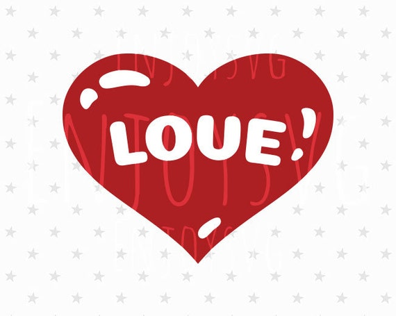 Love Svg File Love Svg Heart Svg Valentines Day Svg Love Svg Etsy