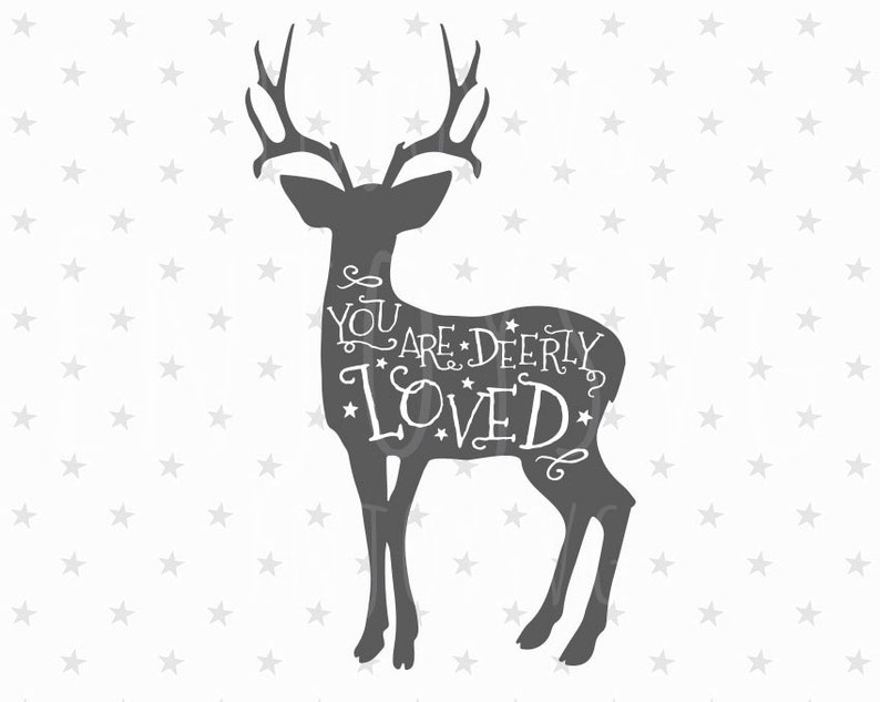 574+ Love You Deerly Svg Download Free