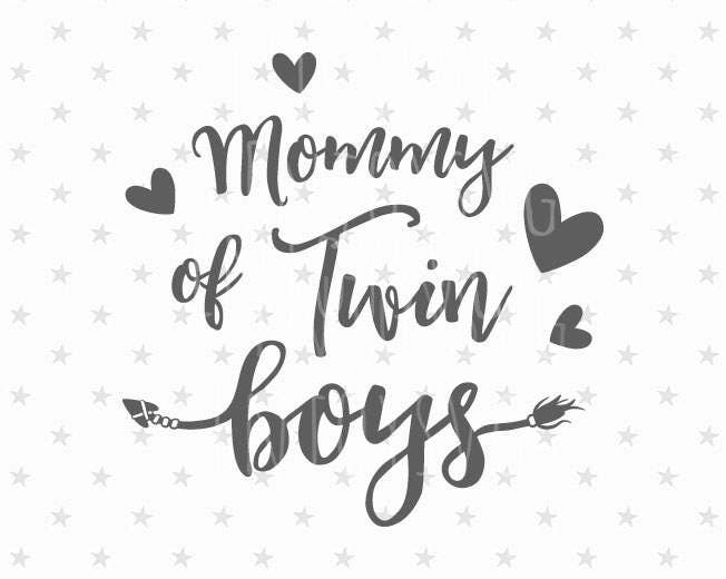 mommy of twin boys svg twin boys svg file twins svg file best etsy The Twins Show 50
