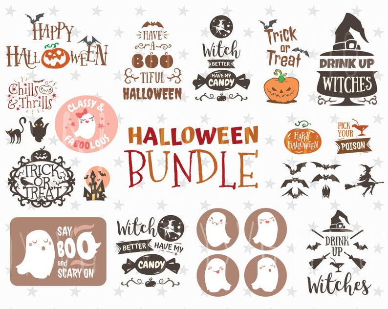 ef4db83f9 Halloween Bundle svg Halloween SVG Bundle Halloween SVG | Etsy