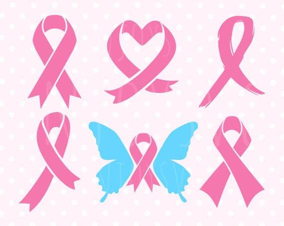 Pink Ribbon Svg Pink Ribbon Svg Files Breast Cancer Ribbon Svg Etsy