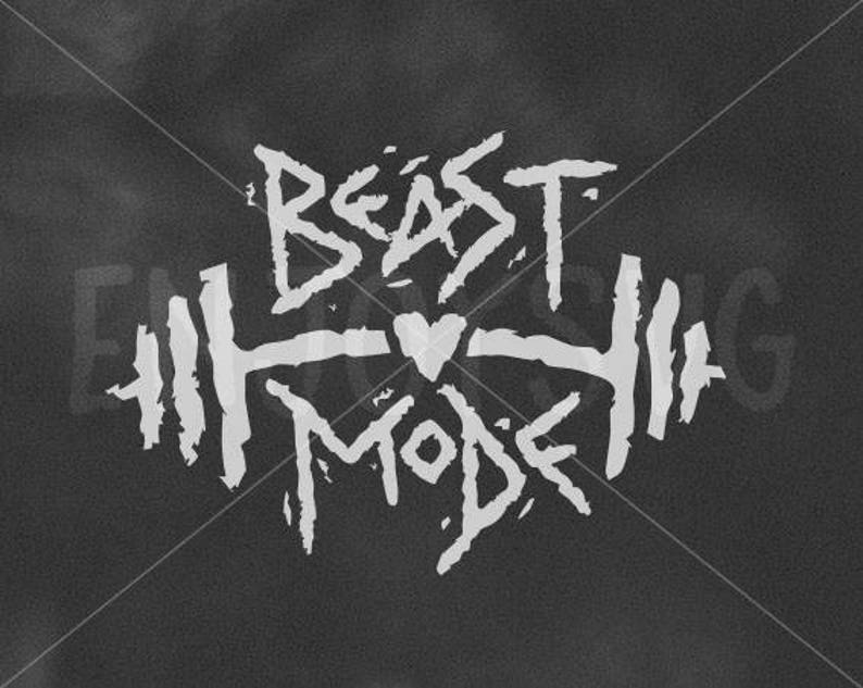 Gym Svg Beast Mode Svg Fitness Svg Beast Mode Svg File Fitness Svg File Heart Svg Gym Svg File Silhouette Cricut Fitness Svg Funny Sport Svg