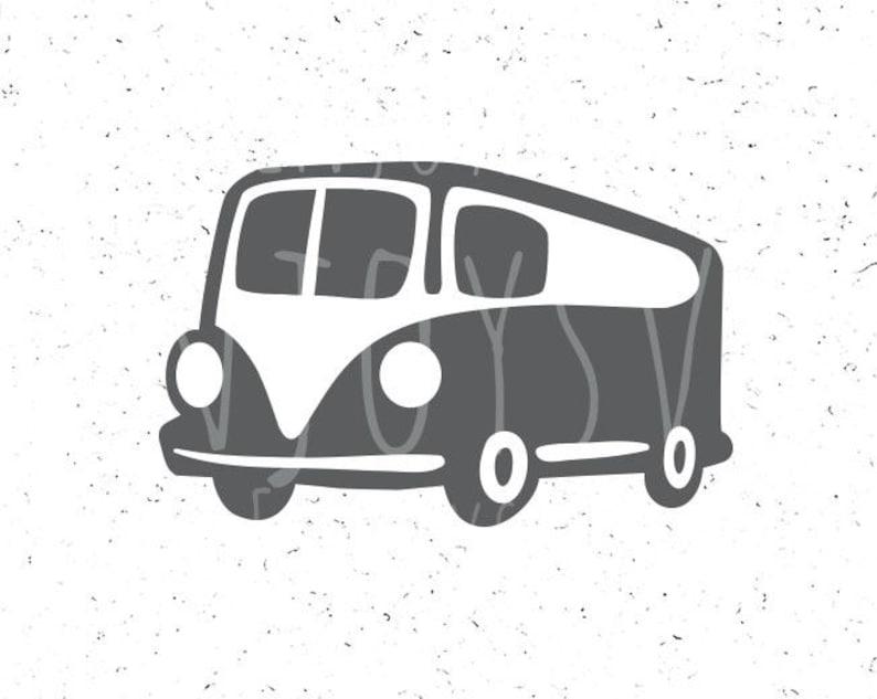 30c5522d5bcc5 Camper Van SVG File Summer Campervan svg Mini Bus svg Hippie Bus svg  Trailer svg Camper svg Camper svg file Adventure svg file Camping svg