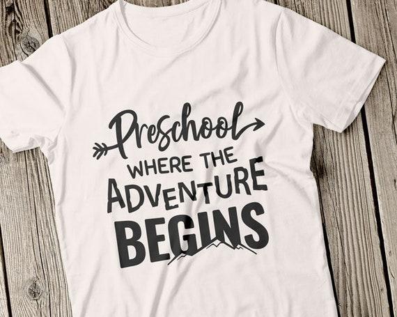 Where the Adventure Begins Zipper Pouch Preschool