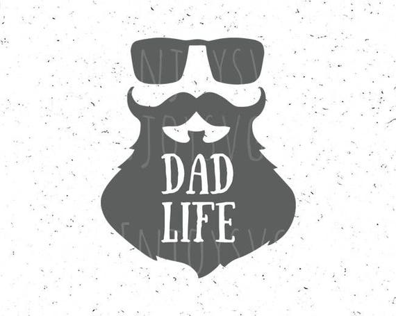 Dadlife Svg File Dadlife Svg Beard Svg Dad Life Svg Etsy