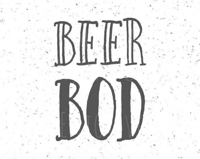 Beer Bod Svg File Beer Bod Svg Best Dad Svg Dad Bod Svg Cut Etsy