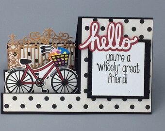Bicycle Friendship Card