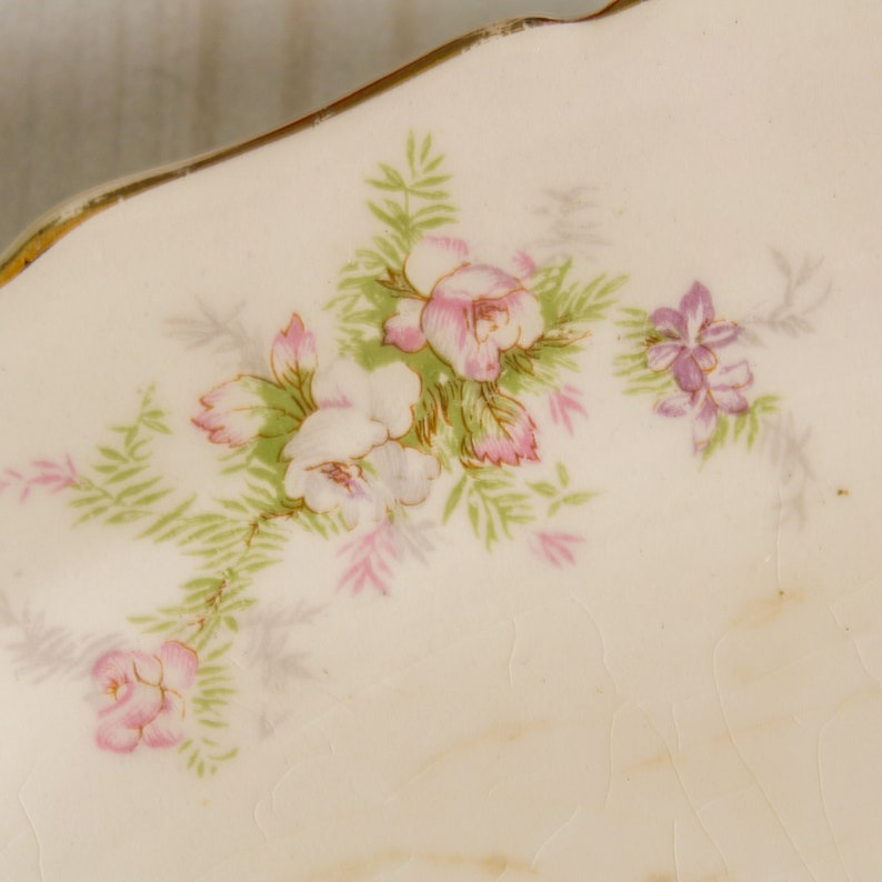 Canonsburg Heather Underplate for Gravy Boat or Small Oval Serving Plate