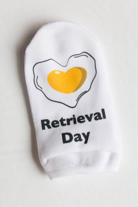 Short Retrieval Day Socks, IVF socks, Infertility