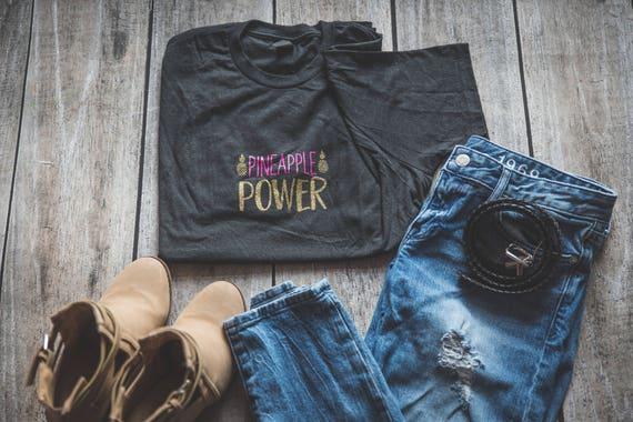Pineapple Power Infertility T-shirt IVF IUI