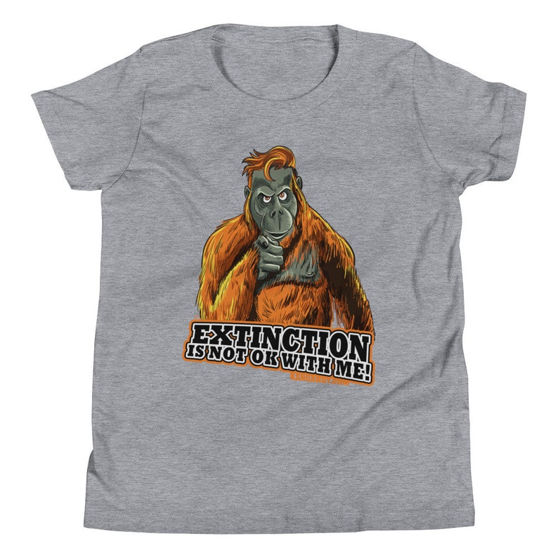 Extinction Youth Short Sleeve T-Shirt image 0