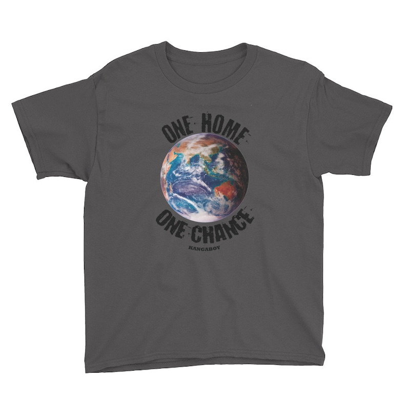 EARTH Dark Colors Youth T-Shirt image 0
