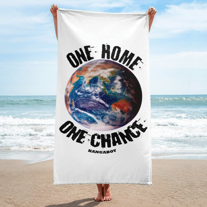 EARTH Beach Towel image 0