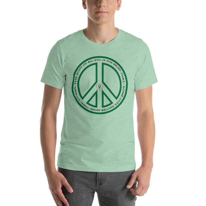 PEACE Colors Unisex T-Shirt image 0