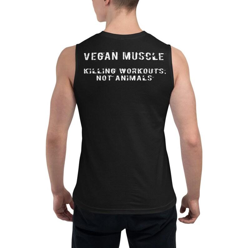Vegan Muscle Unisex Muscle Shirt image 0
