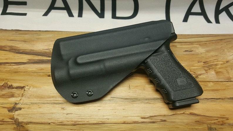 Davis Tactical IWB Light Bearing Kydex Holster For Glock 17//22//31 TLR-1