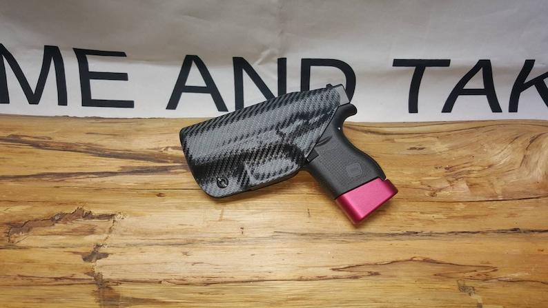 Glock 43 43X Kydex IWB Appendix Holster ** Ready to Ship**Lifetime  Warranty**BCF** AIWB ** G43 **