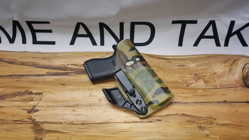 Glock 43 43X Kydex IWB Appendix Holster ** Ready to Ship**Lifetime  Warranty**MTC** S/C * Multicam*