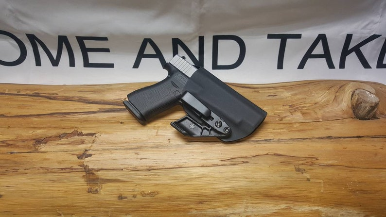Glock 48 Kydex IWB Appendix Holster ** Ready to Ship**Lifetime  Warranty**BLK** S/C G48