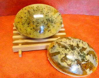 Sweet Orange, Green Tea & Honey Soap Bars, handmade,  soothes dry, irritated skin as well as acne-prone skin