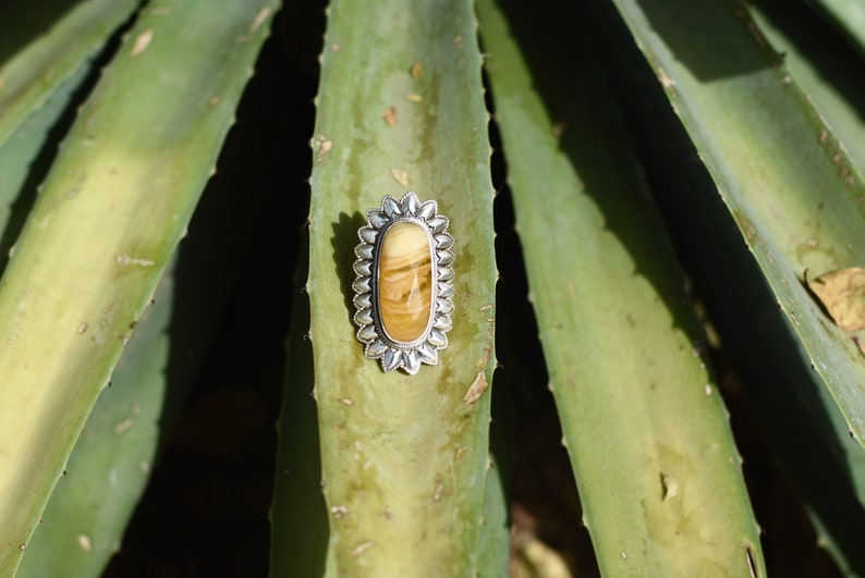 real amber natural amber fossil ring sterling silver ring fossilized tree resin amber ring