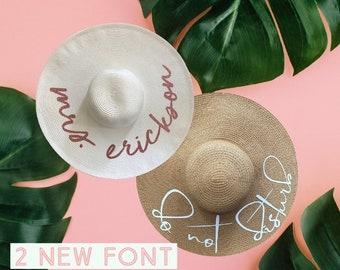 36aa35f52f9db Personalized Sun Hat