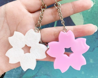 New Sakura Zipper Charm