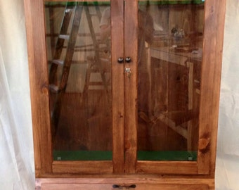 Wood Gun Cabinet Etsy