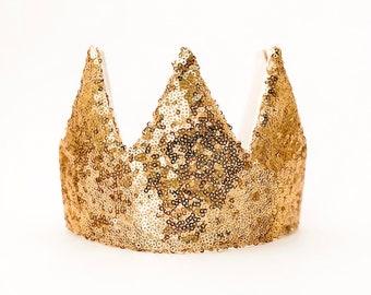 Fabric Crown MINT SENFGELB Birthday Crown