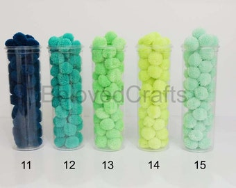 Handmade 100 Pieces Of Yarn Pom Poms Crafts Decoration Party