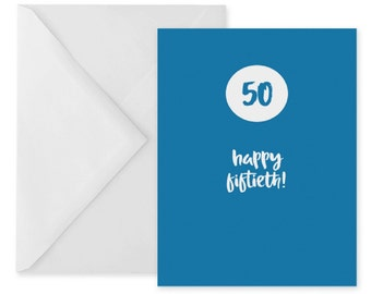 Birthday card for son happy birthday son card son birthday etsy 50th birthday card 50th anniversary card blue birthday card printable m4hsunfo