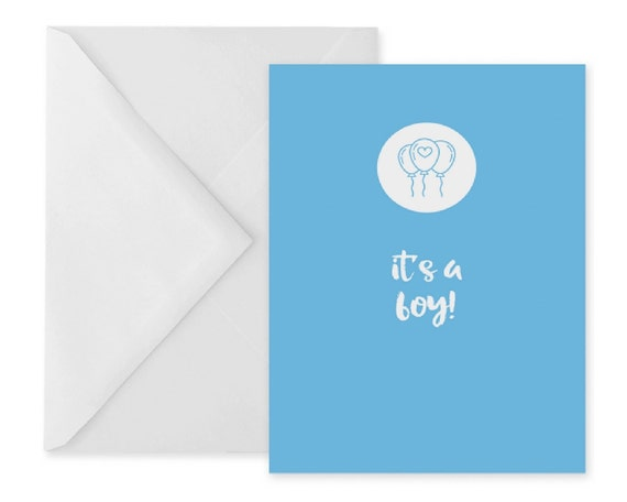 New baby boy card new parents card blue greetings card new etsy image 0 m4hsunfo