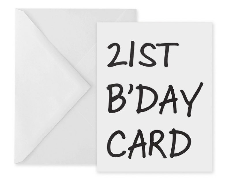 photo relating to 21st Birthday Cards Printable referred to as 21st birthday card 21 birthday basic 21st card 21st printable card