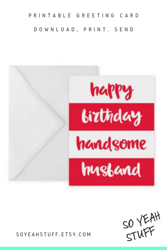 graphic about Printable Birthday Cards for Husband known as spouse birthday card satisfied birthday partner printable card for spouse