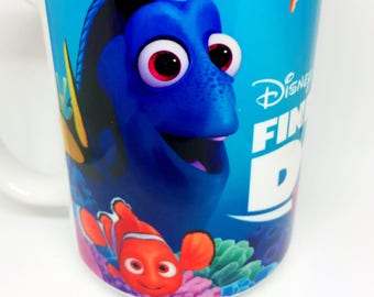 Custom Made Finding Dory Coffee Mug 11oz or 15oz with your name Personalized